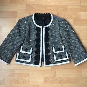 Grey Bolero Jacket